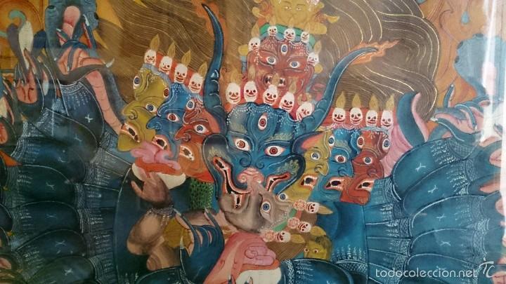 Arte: ANTIGUO TANKA TIBETANO - Foto 11 - 56584879