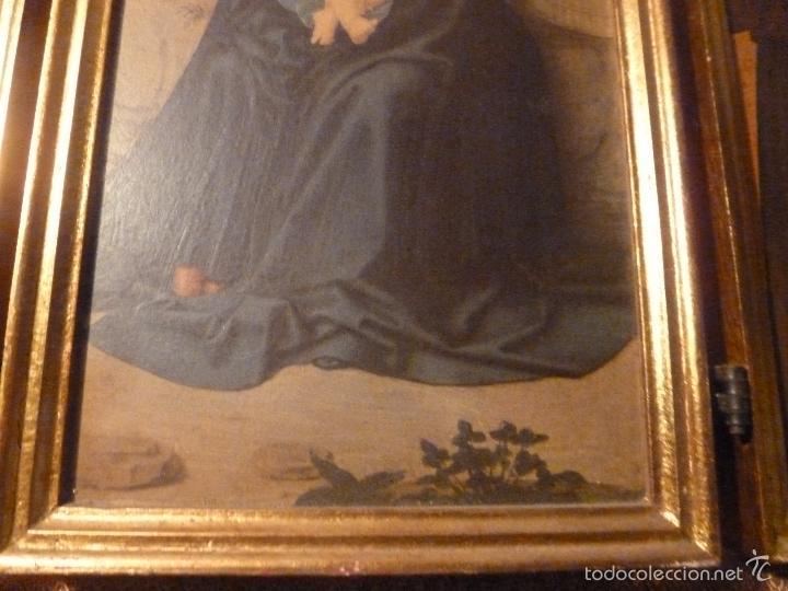 Arte: triptico religioso dorado - Foto 7 - 56618075