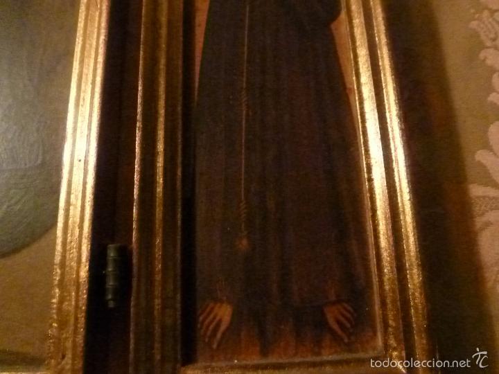 Arte: triptico religioso dorado - Foto 11 - 56618075