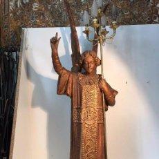 Arte: ANGEL TORCHERO, ARTE CRISTIANO OLOT. 117CM.. Lote 71858558