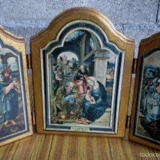 Arte: TRIPTICO RELIGIOSO. Lote 56642699
