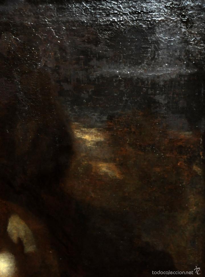Arte: ESCUELA ITALIANA DE LA 2ª MITAD DEL SIGLO XVII. OLEO SOBRE TELA. MAGDALENA - Foto 9 - 56736971