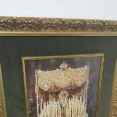 Arte: IMPRESIONANTE FOTOGRAFIA DE LA MACARENA DE HARETON 1984. Lote 56800611