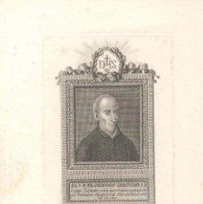 Arte: GRABADO DE SAN FRANCISCO DE GERÓNIMO LO PARE SIMÓ, REALIZADO POR VICENTE CAPILLA SIGLO XIX VALENCIA.. Lote 56923738