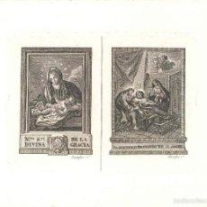 Arte: GRABADO NTRA. SRA. DE LA DIVINA GRACIA, DICHOSO TRÁNSITO DE SAN JOSÉ, AUTOR TOMAS ROCAFORT, VALENCIA. Lote 56924450