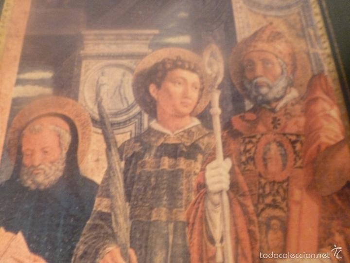 Arte: triptico religioso dorado - Foto 6 - 56934906