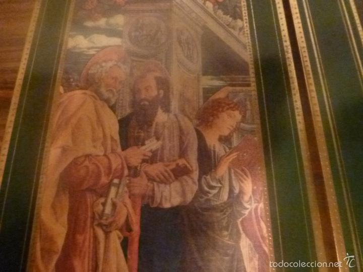 Arte: triptico religioso dorado - Foto 18 - 56934906