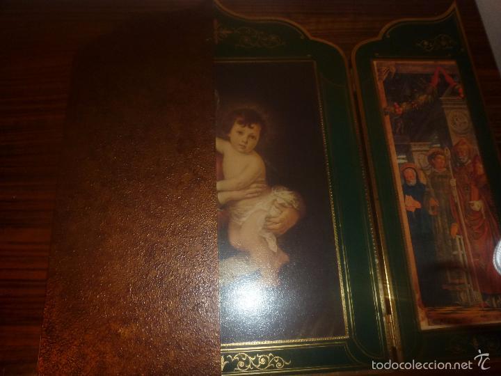 Arte: triptico religioso dorado - Foto 22 - 56934906