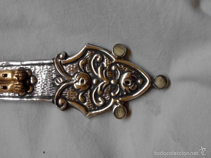 cruz de plata, cristo baño oro 18 klt ( 26x19) - Comprar Escultura ...