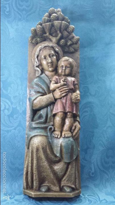 VIRGEN DEL PINO (Arte - Arte Religioso - Escultura)