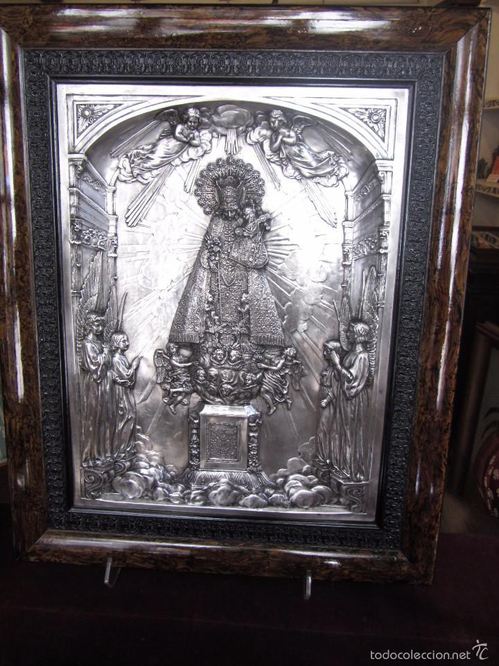 PRECIOSO CUADRO RELIEVE VIRGEN DE LOS DESAMPARADOS (Arte - Arte Religioso - Retablos)