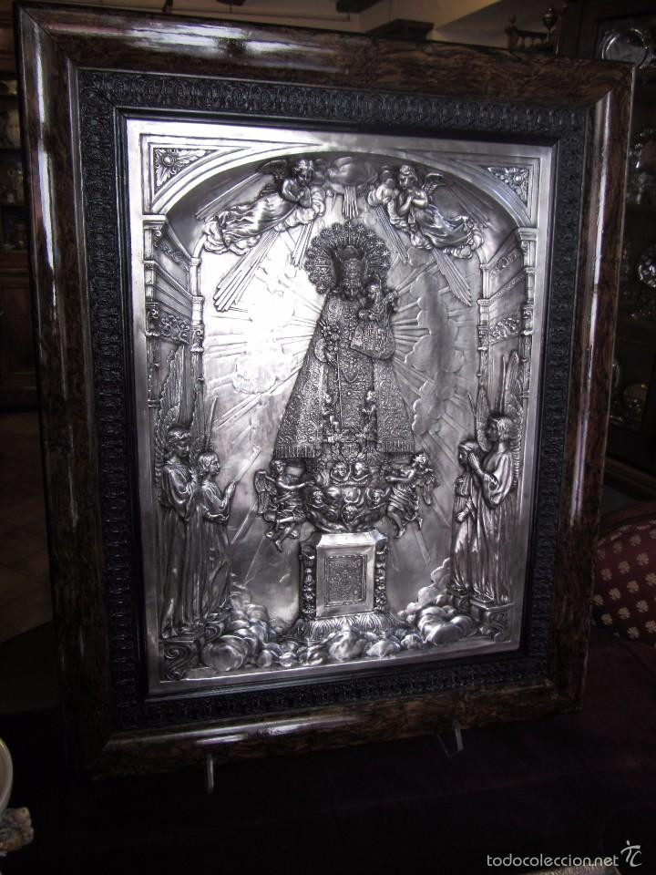 Arte: Precioso Cuadro Relieve Virgen de los Desamparados - Foto 2 - 57021112