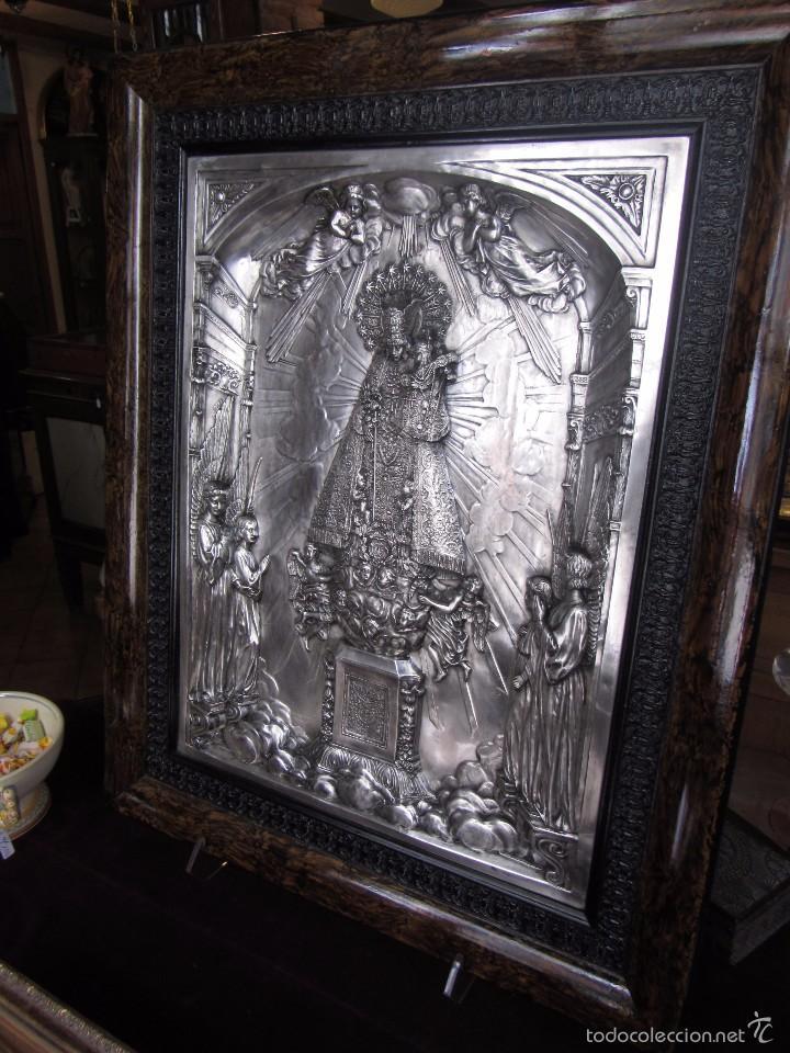 Arte: Precioso Cuadro Relieve Virgen de los Desamparados - Foto 3 - 57021112