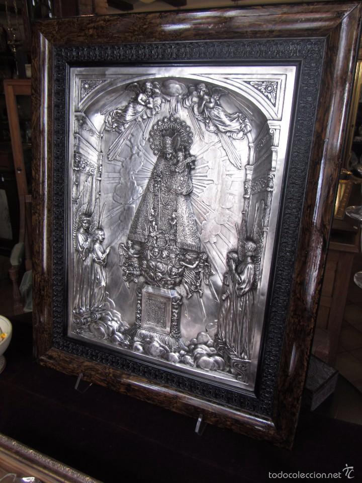 Arte: Precioso Cuadro Relieve Virgen de los Desamparados - Foto 4 - 57021112