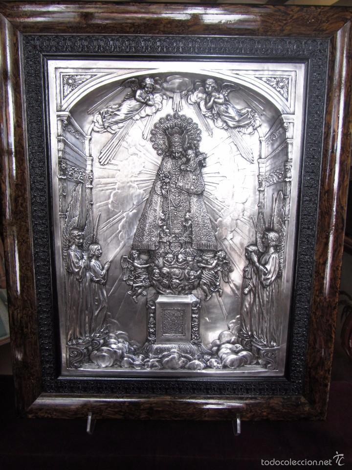 Arte: Precioso Cuadro Relieve Virgen de los Desamparados - Foto 5 - 57021112