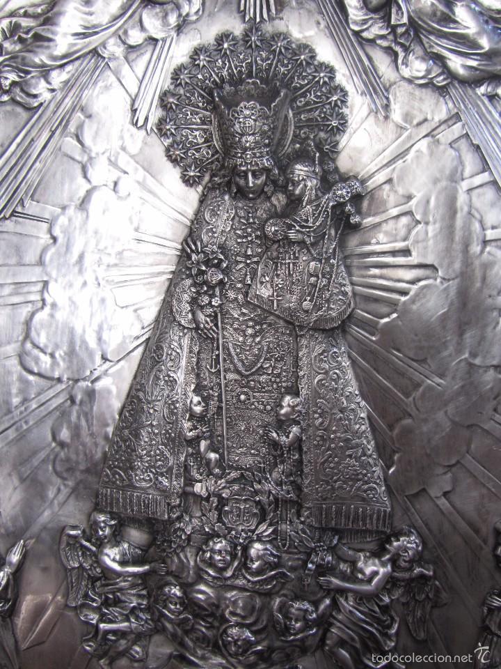 Arte: Precioso Cuadro Relieve Virgen de los Desamparados - Foto 6 - 57021112