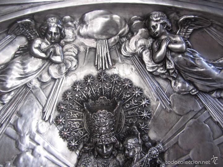 Arte: Precioso Cuadro Relieve Virgen de los Desamparados - Foto 7 - 57021112