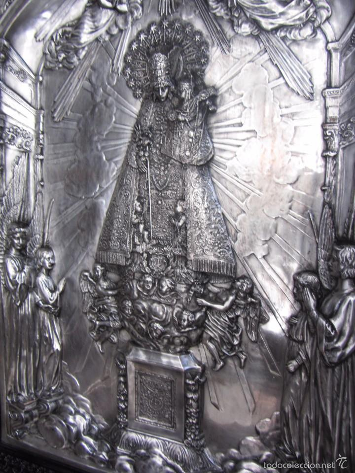 Arte: Precioso Cuadro Relieve Virgen de los Desamparados - Foto 10 - 57021112