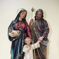 Arte: FIGURA RELIGIOSA OLOT - SAGRADA FAMILIA. Lote 57022495