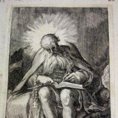 Arte: 5 SANTOS. GRABADOS. UNO FIRMADO. RESTO ATRIBUIDO. HERMAN WEYER. 1600-1672.. Lote 57256774