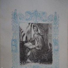 Arte: REF: KK - AÑO 1861 ORIGINAL GRABADO DE LA EPOCA RELIGIOSO - SAN GREGORIO III PAPA Y CONFESOR. Lote 57277077