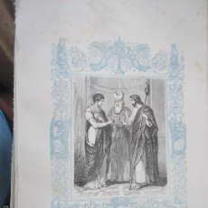 Arte: REF: KK - AÑO 1861 ORIGINAL GRABADO DE LA EPOCA RELIGIOSO - LOS DESPOSORIOS DE LA VIRGEN. Lote 57277088