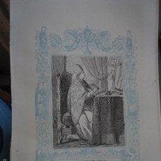 Arte: REF: KK - AÑO 1861 ORIGINAL GRABADO DE LA EPOCA RELIGIOSO - SAN EVARISTO PAPA Y MARTIR . Lote 57277359