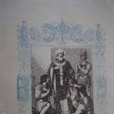 Arte: REF: KK - AÑO 1861 ORIGINAL GRABADO DE LA EPOCA RELIGIOSO - SAN CALIXTO PAPA Y MARTIR . Lote 57277476