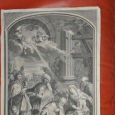 Arte: JEAURAT GRABADO ORIGINAL DE 1717. Lote 57325931