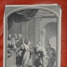 Arte: JEAURAT GRABADO ORIGINAL DE 1715. Lote 57325963