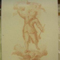 Arte: GRABADO DE SAN VICENTE FERRER NIÑO, DIBUJO DE VICENTE LÓPEZ Y FRANCISCO JORDÁN VALENCIA SIGLO XVIII. Lote 57344252