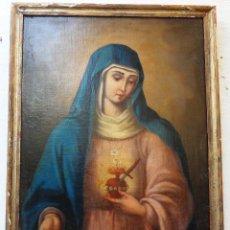 Arte: VÍRGEN DOLOROSA. REF.109. Lote 57535205