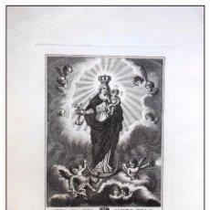 Arte: NTRA SRA DEL SANTO ZELO, VULGO DEL PECADO MORTAL. ROCAFORT. 1825. Lote 57612008