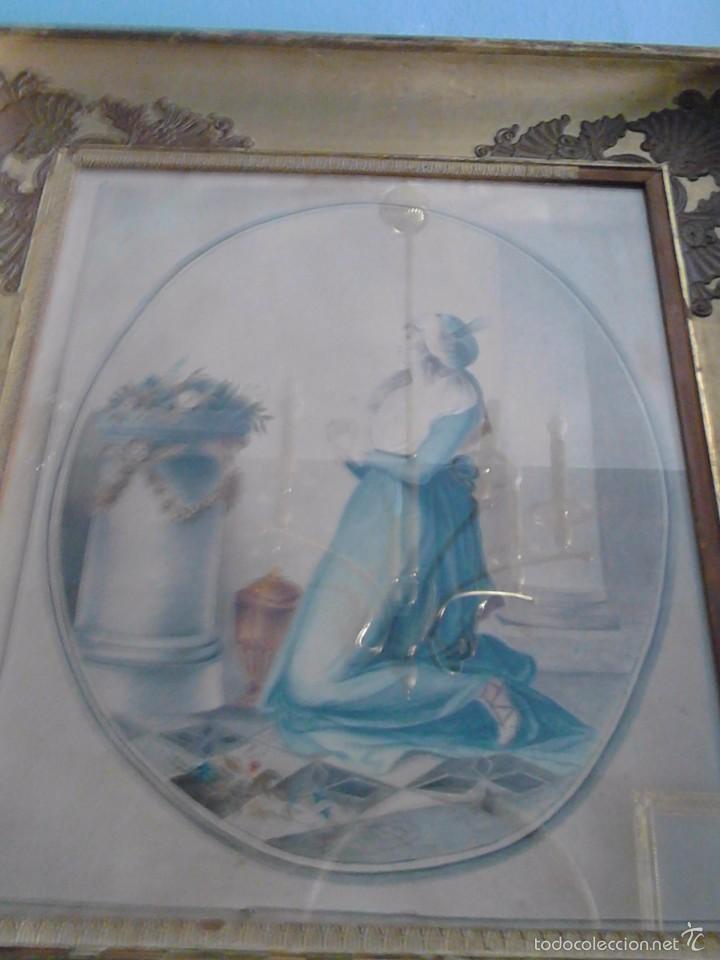 Arte: Antiguo pastel - Foto 2 - 57619514