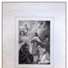 Arte: ANTIGUO GRABADO ORIGINAL : V FRANCISCO DEL NIÑO JESUS. TÉLLEZ LUIS (DIB), ROCAFORT TOMAS (GRAB) 1834. Lote 57626031