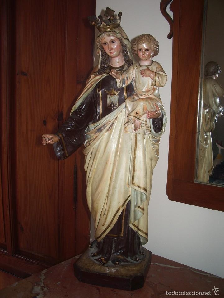 VIRGEN DEL CARMEN, DE OLOT (Arte - Arte Religioso - Escultura)