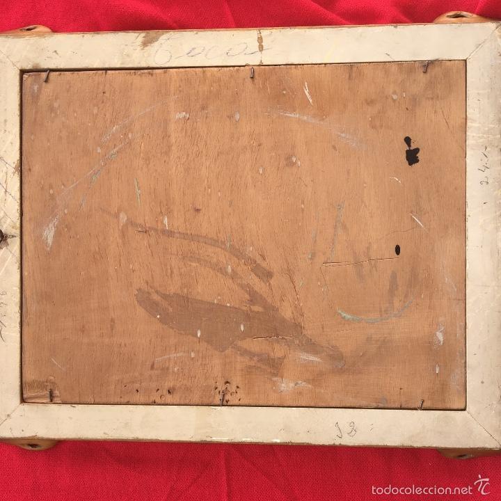 Arte: Alfredo enguix padre oleo virgen con niño 1967 enmarcado - Foto 10 - 57740787