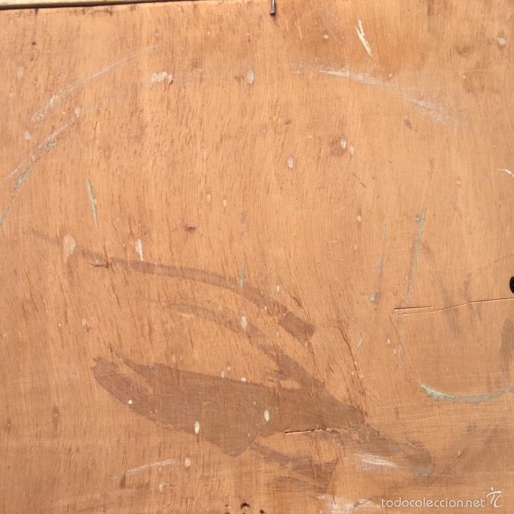 Arte: Alfredo enguix padre oleo virgen con niño 1967 enmarcado - Foto 11 - 57740787