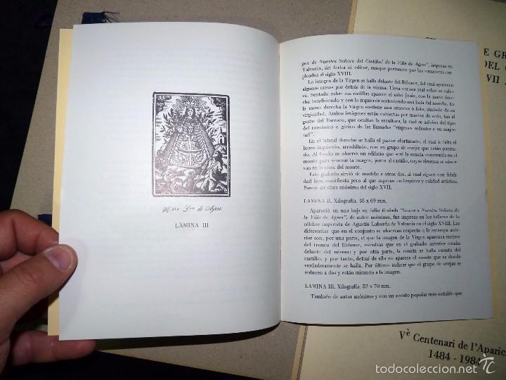 Arte: MAGNÍFICO LOTE DE LA MARE DE DÉU DEL CASTELL DAGRES. CARPETA GRABADOS, POSTALES, GOZOS, ESTAMPAS - Foto 5 - 57848439