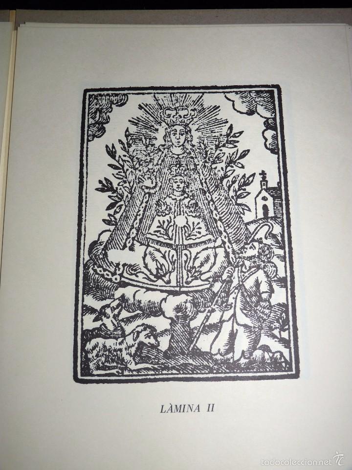 Arte: MAGNÍFICO LOTE DE LA MARE DE DÉU DEL CASTELL DAGRES. CARPETA GRABADOS, POSTALES, GOZOS, ESTAMPAS - Foto 7 - 57848439