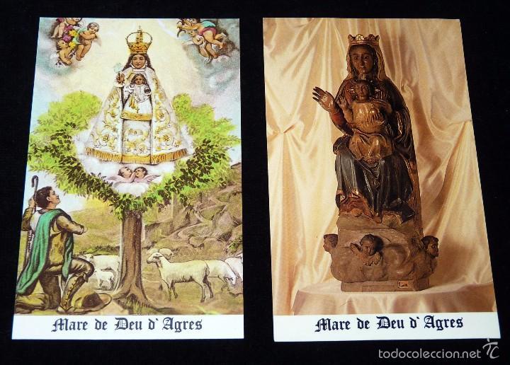Arte: MAGNÍFICO LOTE DE LA MARE DE DÉU DEL CASTELL DAGRES. CARPETA GRABADOS, POSTALES, GOZOS, ESTAMPAS - Foto 19 - 57848439