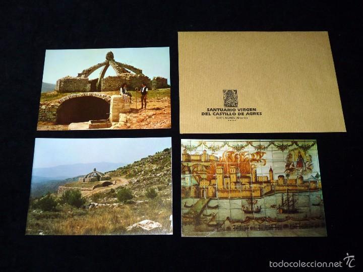 Arte: MAGNÍFICO LOTE DE LA MARE DE DÉU DEL CASTELL DAGRES. CARPETA GRABADOS, POSTALES, GOZOS, ESTAMPAS - Foto 20 - 57848439