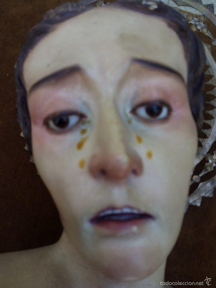 Arte: Busto Cap y pota de la Dolorosa - Foto 2 - 57875340