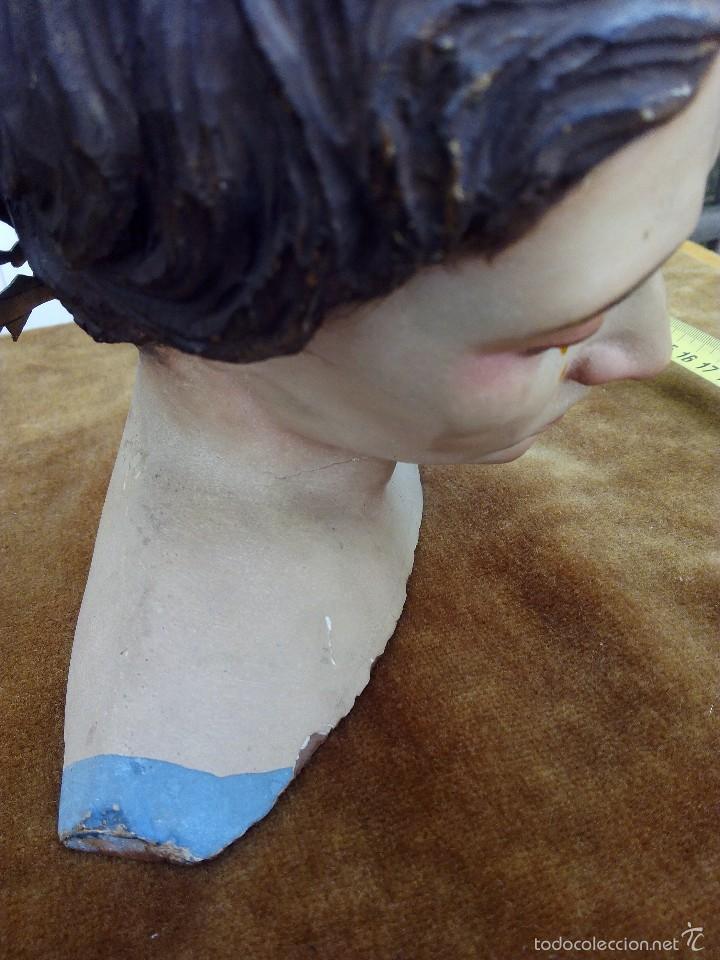 Arte: Busto Cap y pota de la Dolorosa - Foto 5 - 57875340