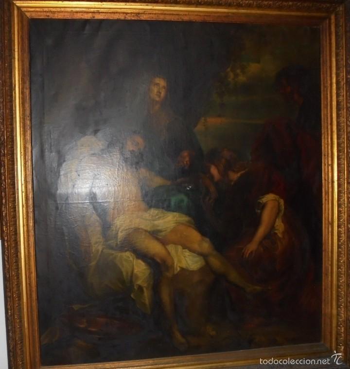 LA PIEDAD DE VAN DYK. (Arte - Arte Religioso - Pintura Religiosa - Oleo)