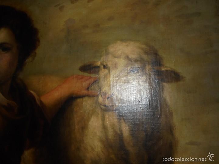 CUADRO DE SAN JUAN DE MURILLO. (Arte - Arte Religioso - Pintura Religiosa - Oleo)