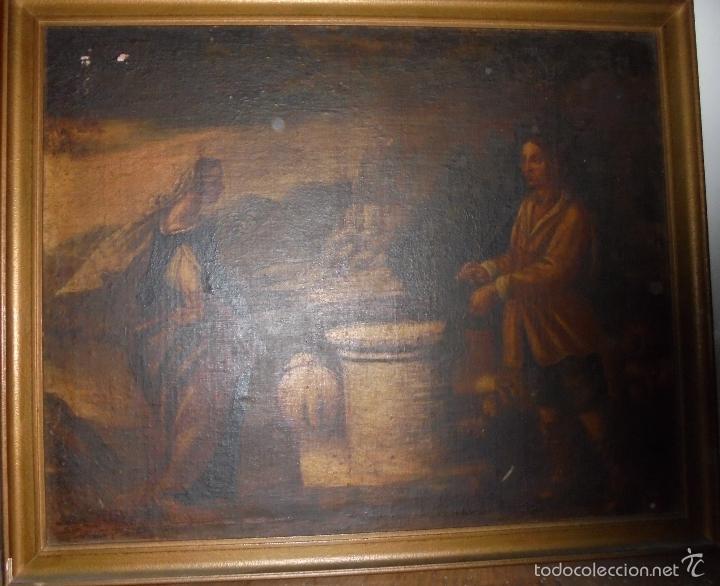 Arte: Cuadro al oleo del SXVII - Foto 2 - 58093499