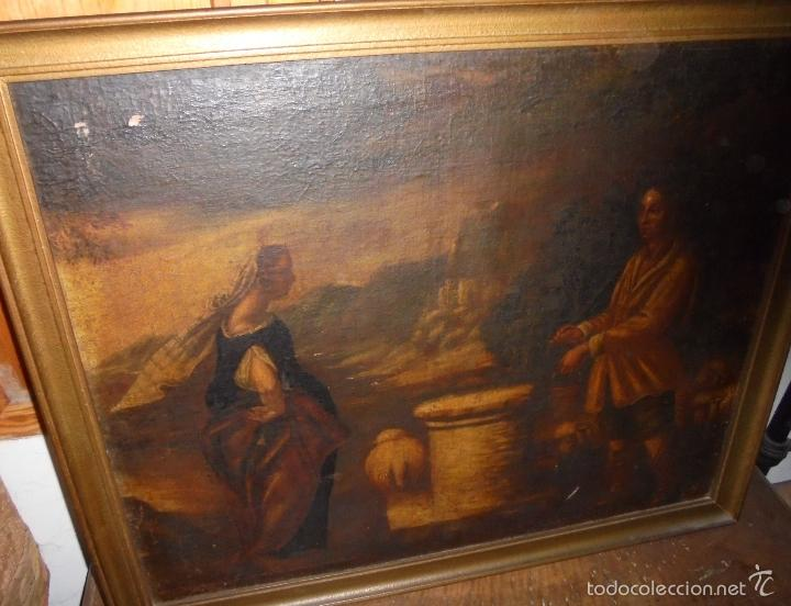 Arte: Cuadro al oleo del SXVII - Foto 4 - 58093499