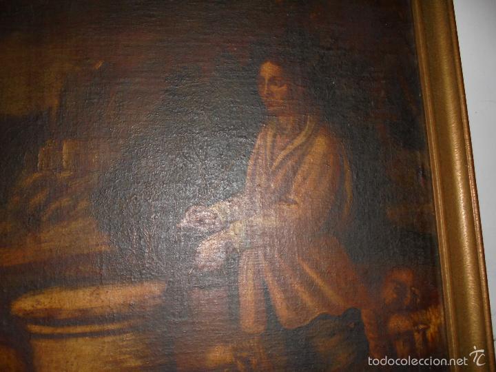 Arte: Cuadro al oleo del SXVII - Foto 7 - 58093499