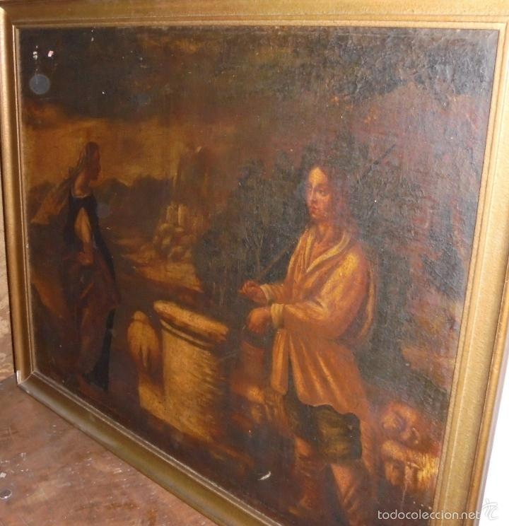 Arte: Cuadro al oleo del SXVII - Foto 13 - 58093499